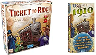 Ticket to Ride Bundle with Ticket to Ride USA1910 Expansion
