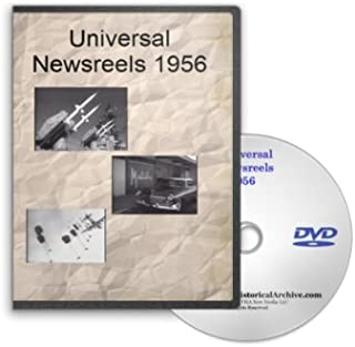 News of the Day 1956 - Universal Newsreels Including Republican National Convention, Greeks Riot, Venezuela Builds Largest Dam, Suez Canal Siezed, H-Bomb Tested, Hungarian Freedom Fighters, Santa Claus, Billy Graham, Plane Crash and Much More