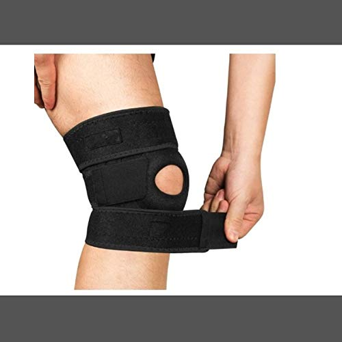 8teq Premium Knee Brace, Hinged Knee Brace for Knee Joint Pain Relief ,Knee Compression Sleeve Breathable Knee Pad for Men & Women, Knee Support for Arthritis Pain, Tendinitis Pain, ACL, Athletic Injury. (1-pack)(Universal)