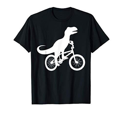 Dinosaur Riding Bike | Cute Bike-Dino Lovers Gift T-Shirt