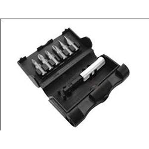 Black+Decker X60480-XJ - Conjunto de puntas para atornillar de 7 piezas. Incluye: Pz1 y 2; Ph1 y 2; R 4.5 y 6.5 mm + Adaptador magnético