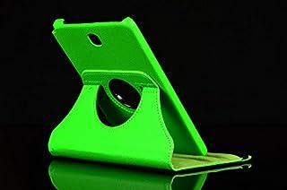 Lobwerk Tasche für Samsung Galaxy Tab A SM T550 T551 T555 9.7 Zoll Schutz Hülle Flip Tablet Cover Case (Grün) NEU