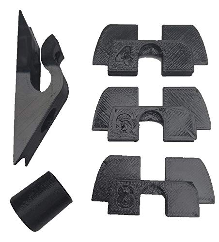 3dPrinted 3X Amortiguador Junta Goma 3D Flexible Anti