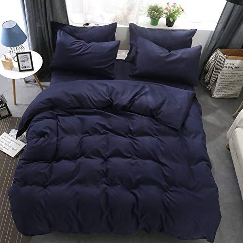 GYCZC Einfarbige, Vierteilige, Einfache Bettdecke