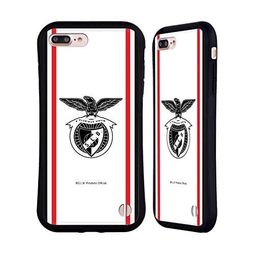 Head Case Designs Licenza Ufficiale S.L. Benfica Away 2021/22 Kit Crest Cover Ibrida Compatibile con Apple iPhone 7 Plus/iPhone 8 Plus