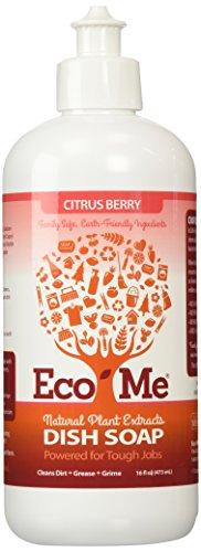 ECO-ME - Natural Liquid Dish Soap, Citrus Berry - 16 fl. oz. (473 ml)