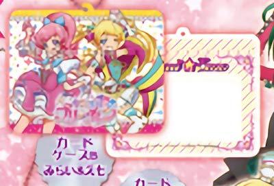 【カードケースBみらい&えも】キラッとプリ☆チャン カードケース&チャームネックレス