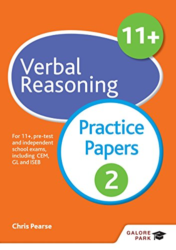 11+ Verbal Reasoning Practice Papers 2: For 11+, pre-test and independent school exams including CEM, GL and ISEB (GP) (English Edition)