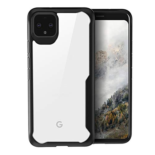 Olixar for Google Pixel 4XL Bumper Case - Shockproof Transparent Bumper Cover