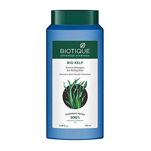 Biotique Bio Kelp Fresh Growth Protein Shampoo, 400Ml (Ship from India)