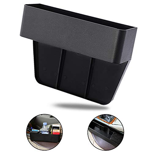 Multifunktionale Aufbewahrungsbox für Autos, Organizer für Autositze, Aufbewahrungsbox für Schlitze/Aufbewahrungsbox für Autositzlücken/Schlitzspalttaschen für Telefon, Karte,Snacks, Getränke