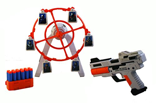 A to Z De A À Z 01938 Rapid Fire Dart Blaster avec Cible