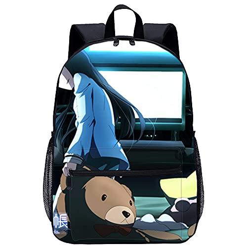 Mochila Infantil 3D mochila para niño Kami sama No Memo Chou Adecuado para: estudiantes de primaria y secundaria, la mejor opción para viajes al aire libre Tamaño: 45x30x15 cm / 17 pulgadas Mochila