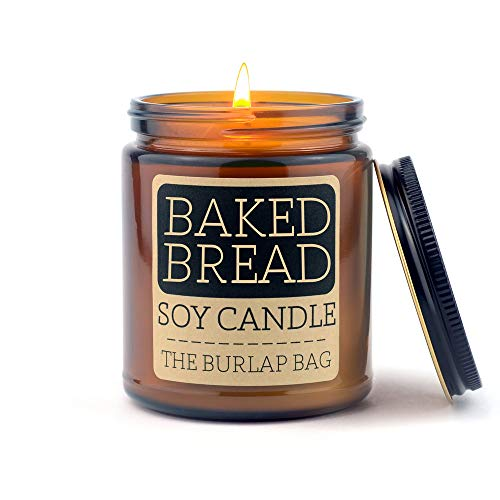 The Burlap Bag 9oz Soy Candles (Baked Bread)