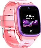 4G Kids Smart Watch-SpeedTalk Mobile Srmartwatch SIM Card Included GPS Locator 2-Way Face to Face Call Voice & Video Camera SOS Alarm Remote Monitoring Worldwide Coverage in Select Countries 4+ Years