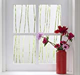Finnez Window Film Privacy and Light Protection | Vinyl Sticker Film Create Frosted Look | Static...