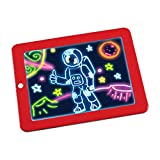 3D Magic Drawing Board Kinder Notizbuch-Schreibens Malerei Magie Zeichenbrett Glühend Zeichenbrett Art Malerei Wasserdicht kreative Graffiti Coloring Brett