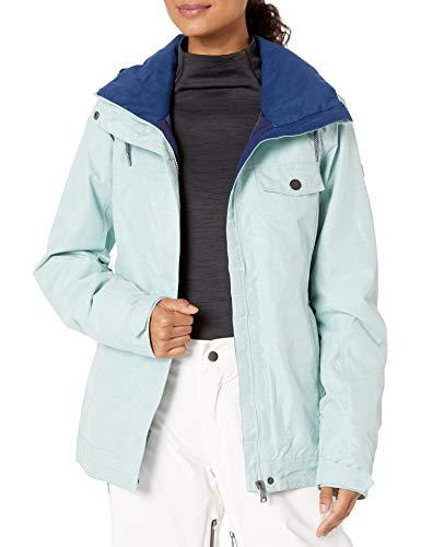 Roxy SNOW Women's Billie Jacket, harbor gray, L