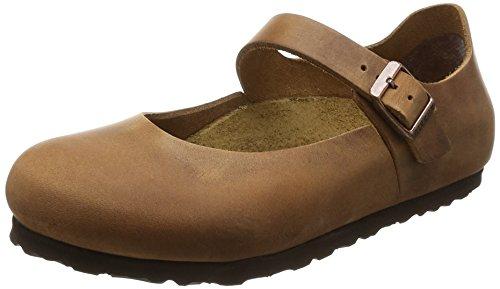 BIRKENSTOCK Shoes Damen Mantova Mary Jane Halbschuhe, Braun (Antik Brown), 36 EU