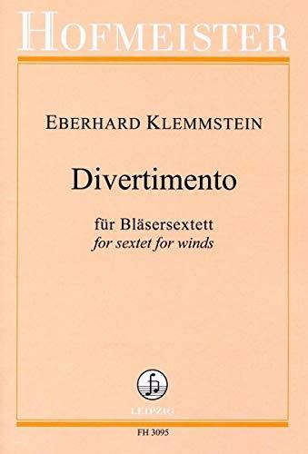 Klemmstein, Eberhard: Divertimento : für Bassklarinette, Horn und Fagott Partitur und Stimmen
