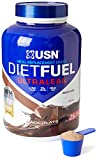 USN Diet Fuel, Meal Replacement Protein Shake, Aid in Weightloss, Chocolate, 2 kg