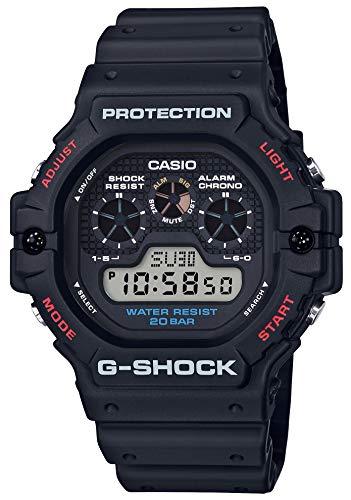 [カシオ] 腕時計 ジーショック G-SHOCK DW-5900-1JF メンズ ブラック