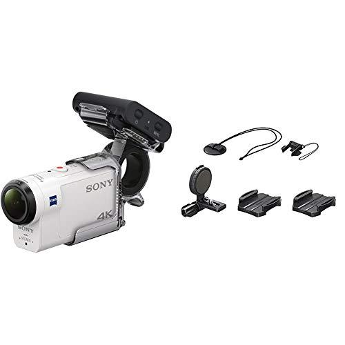Sony FDRX3000R Kit de Cámara Action CAM 4K y Grip para Dedo...