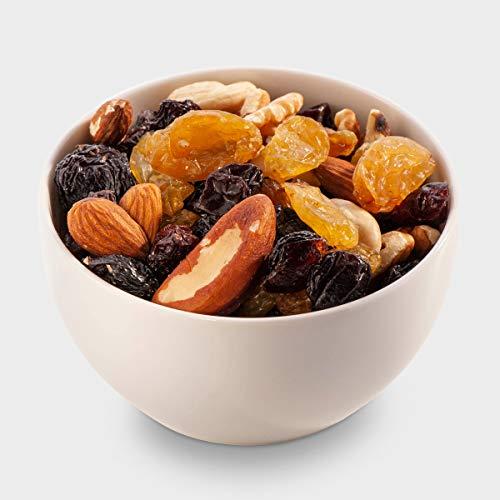 Sultans Palace Studentenfutter-Mix, eine Premium Mischung aus Nüssen und getrockneten Beeren, ungesalzene, ungeröstete Nüsse, ungeschwefelte Beeren (1000 gr)
