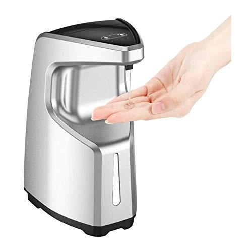SADALAK Touchless Händedesinfektionsspender, 4 Modi 450 ml IPX6 Wasserdichter und Verstellbarer handfreier Seifenspender mit Bewegungssensor-Arbeitsplatte und Wandmontage für Küche, Bad ect