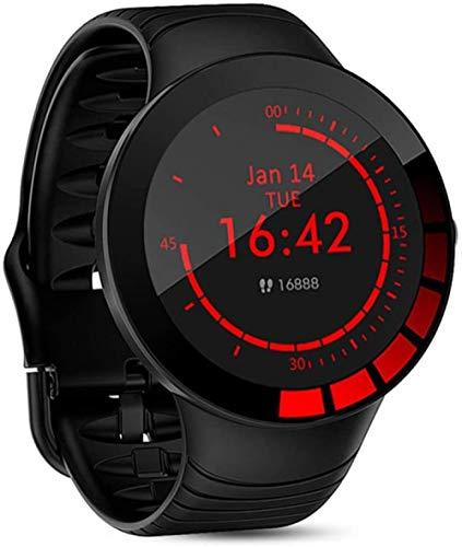 Reloj inteligente deportivo para hombre, IP68, resistente al agua, pantalla táctil completa, de silicona, para Android IOS Mobile Fitness Tracker