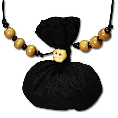 Voodoo Ouanga - HASS - Voodoo Amulett mit Lederband - Mojo Bag