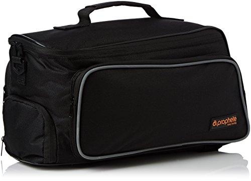 Prophete Gepäckträgertasche für E-Bike Akku, schwarz, L