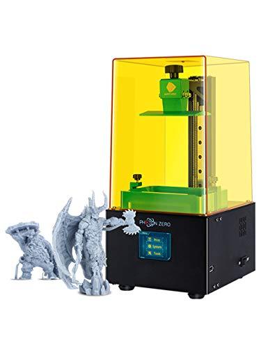 ANYCUBIC 3D Drucker, LCD 3D Drucker Photon Zero mit 16-facher Anti Aliasing Funktion und UV Kühlsystem sowie verbessertem UV Modul, Baugröße 95 x 54 x 150mm