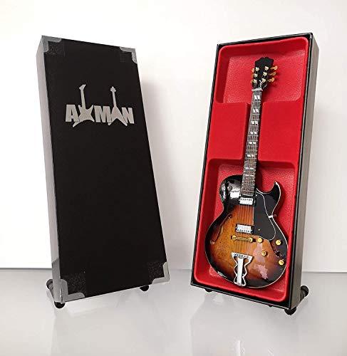 Steve Howe (Yes) - Miniatur-Gitarre Replik mit Displaybox und Ständer