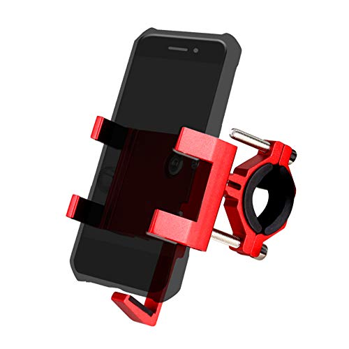 Fesjoy Fahrrad Handyhalterung,Aluminium Fahrrad Telefonhalterung Fahrrad Telefonhalter, hochwertiges Fahrrad Telefonpaket mit Aromatherapie-Stick für Mountainbike-Rennrad-Motorrad