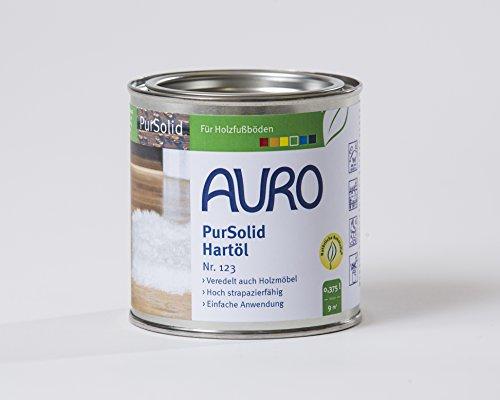 AURO PurSolid Hartöl Nr. 123 Farblos, 0,375 Liter