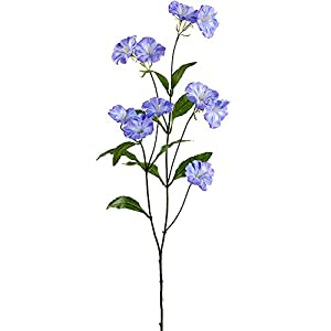 33″ Silk Morning Glory Flower Stem -Delphinium (Pack of 12)