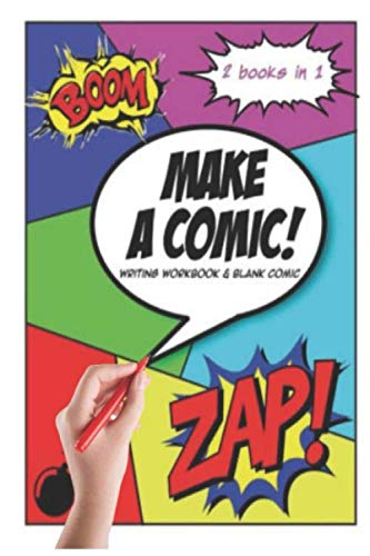 100 of Blank Comic Book for Kids is The Book You Need: (Express Your Kids or Teens Talent and Creativity with This Lots of Pages Comic Sketch)