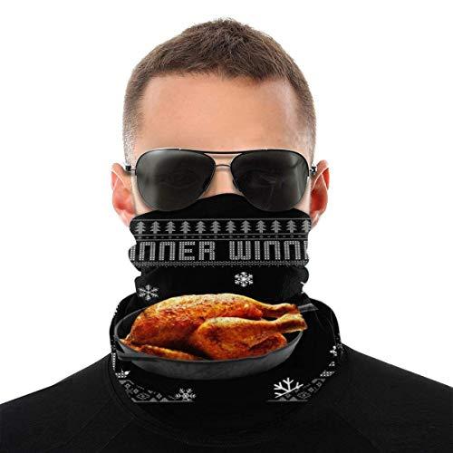 OMarcus Gewinner Türkei Abendessen P-U-B-G Weihnachten Strickmuster Vielzahl Kopfbedeckung Hals Gamasche Gesicht Bandana Schal mit 6 Filtern