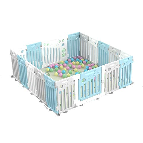 New Playpen AGYH Children's Amusement Park Game Fence Indoor Home Available in Two Colors (7 Sizes) ...