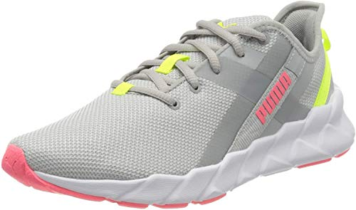 PUMA Damen Weave XT WN's Laufschuh, High Rise White, 41 EU