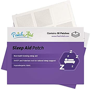 Sleep Aid Topical Patch by PatchAid  1-Month Supply