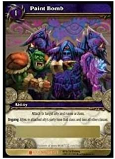 World of Warcraft ICECROWN TCG Paint Bomb Loot card 1/3 by Cryptozoic WOW