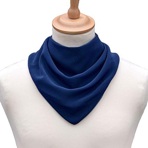 Patterson Medical Halstuch-Lätzchen für Erwachsene, Marineblau