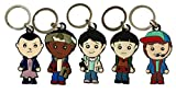 The Cute Little World Characters Pack de 5 llaveros Stranger Kids...
