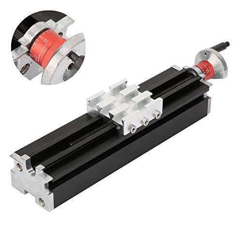 Metall-Kreuzschlitten, 200mm praktischer haltbarer Aluminiumlegierungs-Kreuzschlitten ersetzen Teil für industrielle maschinelle Bearbeitung der Drehbank-X-Achse-Z-Achse-Y-Achse