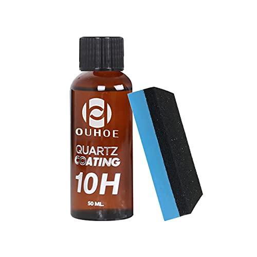 Sweety Revestimiento de cerámica de 50 ml para Revestimiento de Vidrio, Pintura Exterior Resistente a los arañazos, dureza 10H