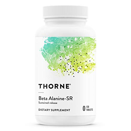 Thorne Research - Beta Alanine-SR with CarnoSyn - Sustained-Release Amino Acid for Muscle Endurance - NSF Certified for Sport - 120 Tablets