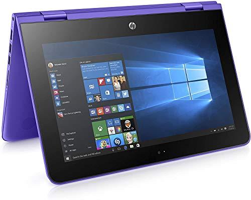 HP Stream x360 11-aa001na 11.6' Laptop (1366 x 768) Intel Celeron N3060, 2GB RAM, 32GB eMMC, Wi-Fi 5, Bluetooth 4.2, Webcam, Windows 10 Home - Y5V16EA- UK Keyboard Layout - Plain Box