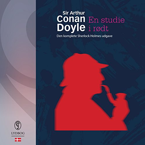 En studie i rødt audiobook cover art